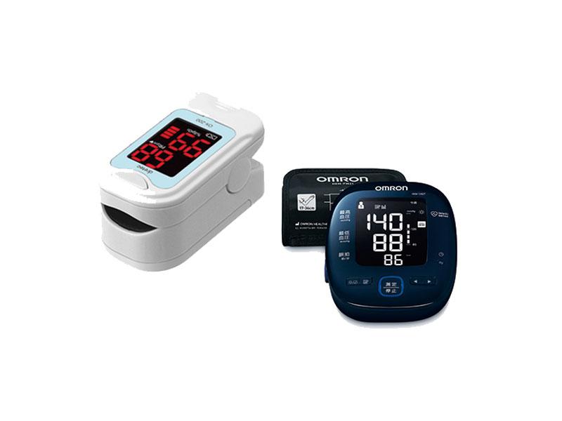 パルスオキシメーター&血圧計
